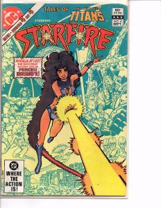 DC Comics Tales of the New Teen Titans #4 Starfire George Pérez Cover