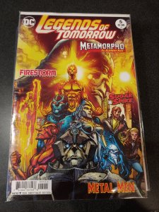 LEGENDS OF TOMORROW #5 OVER-SIZED ISSUE NM