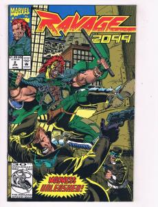 Ravage 2099 (1992) #2 Marvel Comic Book Stan Lee Eco Central HH4 AD38