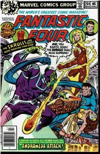 Fantastic Four #204, 7.0+ *KEY* 1st Queen Adora, Xandar & Nova Corps(cameo)