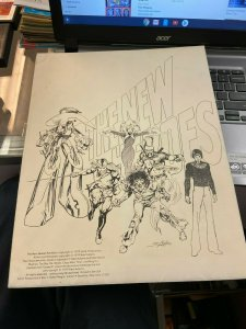The New Heroes 1979 Neal Adams Portfolio Complete un-signed