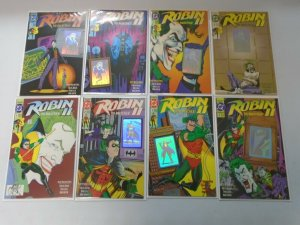 Robin 2 The Joker's Wild #1A,B,C,D,N + #2-4 NS 8 Different Books 8.5 VF+ (1991)