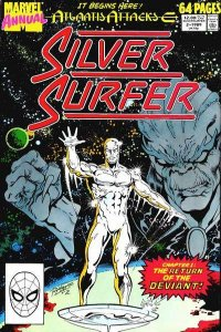 Silver Surfer (1987 series) Annual #2, NM- (Stock photo)