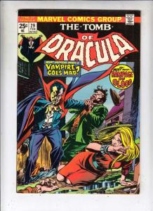 Tomb of Dracula #29 (Feb-75) VF/NM High-Grade Dracula