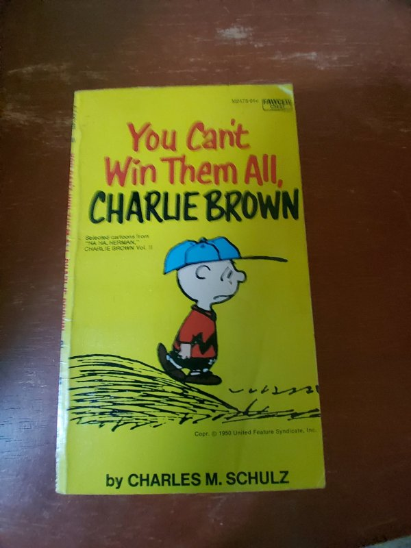 You can't win them all Charlie brown 1950