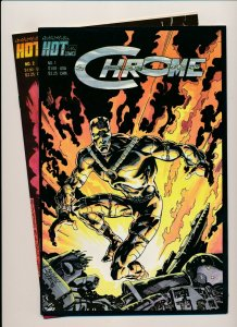 Hot Comics Lot of 2- CHROME #1 & #2 VERY FINE/NEAR MINT (PF951)