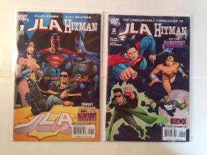 JLA Hitman 1-2 Complete Near Mint Lot Set Run