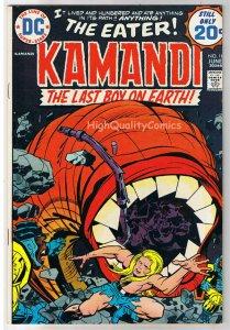 KAMANDI #18, FN+, Jack Kirby, Last Boy on Earth, 1972, more JK in store
