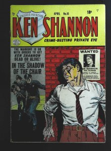 Ken Shannon #10, VG (Actual scan)