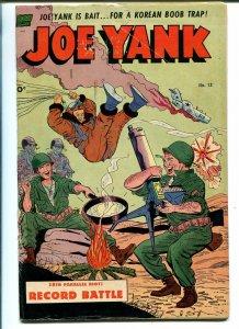 JOE YANK #13 1953-STANDARD-PARACHUTE COVER-ROSS ANDRU-DAN DECARLO-vg/fn