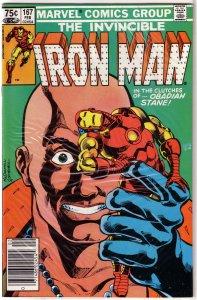 Iron Man   vol. 1  #167 FN/VF O'Neil/McDonnell, Obadiah Stane, alcoholism