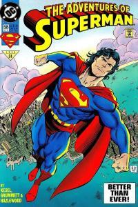 Adventures of Superman (1987 series) #505, NM (Stock photo)
