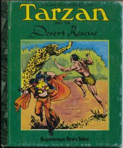 Tarzan Book ST-41-Desert Rescue-Burne Hogarth art-hardback-G