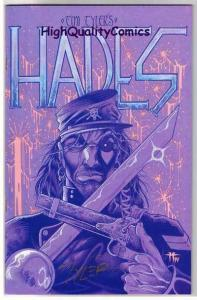 HADES #1, Signed Tim Tyler, Fathom Press, 1994, NM, more indies in store