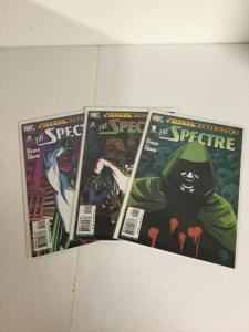 The Spectre 1-3 Infinite Crisis Aftermath Lot Set Run Nm Near DC Comics