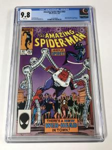 Amazing Spider-Man #263 CGC 9.8
