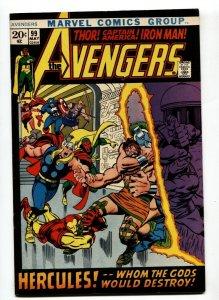 AVENGERS #99-1972 BARRY SMITH-Thor-captain america VF/NM