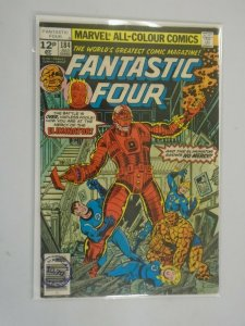 Fantastic Four #184 UK edition 7.0 FN VF (1977 1st Series)