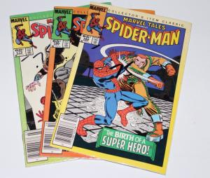 MARVEL SPIDER-MAN MIXED LOT #173/180/182 VERY FINE (SRU640)