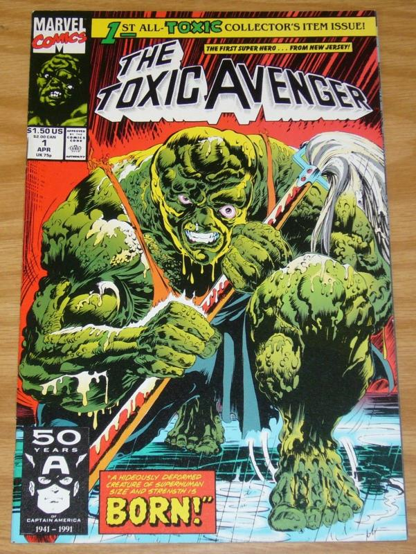 Toxic Avenger #1 VF 1st Appearance / Origin of Toxic Avenger marvel