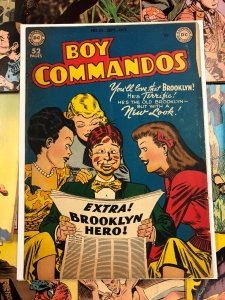 Boy Commandos #35 VG 4.0 superman DC comics 1949 golden age USA americana comic