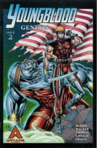 Youngblood Genesis #2A VF/NM; Arcade | save on shipping - details inside