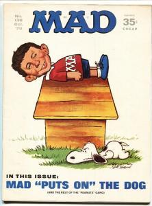 Mad-Magazine-#138-1970-Mort Drucker-Don Martin-David Berg- HIGH GRADE