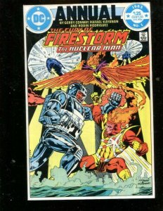 FIRESTORM THE NUCLEAR MAN #1, VF, Annual, DC, 1983, more in store