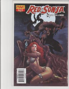 Red Sonja She-Devil With a Sword #35 Cover A Dynamite Entertainment Comic