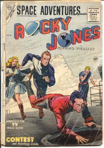 Space Adventures #16 1955-Charlton-Rocky Jones Space Ranger-Krigstein-G-