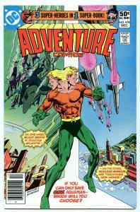 Adventure Comics 478 Dec 1980 NM- (9.2)