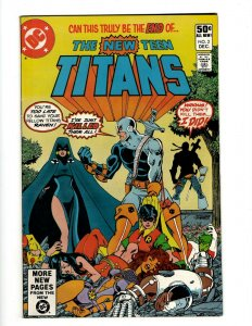 Tales Of The Teen Titans # 2 VF/NM DC Comic Book 1st Deathstroke Appearance SR1