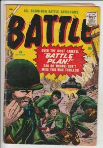 Battle #60 (Oct-58) VG+ Affordable-Grade