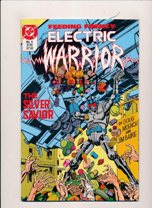 DC Comics Large Lot of 10!   Electric Warrior #2, #4-12 VERY FINE (HX867)