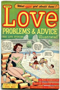 Love Problems and Advice #2 1949- Golden Age Romance- Bob Powell- Lingerie FN+