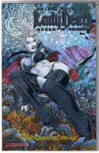 LADY DEATH : QUEEN of the DEAD #1, NM, Platinum,Variant, more LD in store