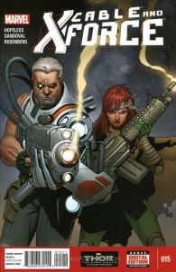 Cable and X-Force #15 VF/NM; Marvel | save on shipping - details inside
