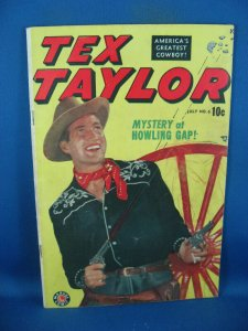 TEX TAYLOR 6 VG+ MARVEL EDITION PHOTO COVER 1949