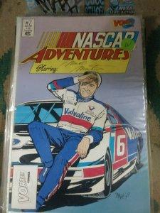 NASCAR ADVENTURES    #7  VORTEX COMICS  MARK MARTIN 6 VALVOLINE RACING CAR