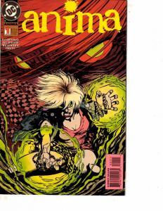 Lot Of 2 Comic Books DC Anima #1 and Amethyst #1 Superman Batman  WT21