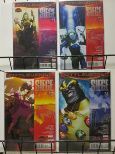SIEGE (2015) 1-4  Battleworlds/SecretWars tie-in!
