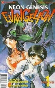 NEON GENESIS EVANGELION BOOK 2 (1998 VIZ) 1-5  complete
