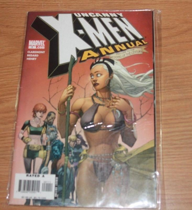 Uncanny X-Men Annual #1 (Aug 2006, Marvel)  PRELUDE TO THE WEDDING BLACK PANTHER