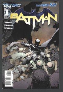 BATMAN NEW 52 ;0, 1-9 10 ISSUES UNREAD NM! In 2022 Batman film???