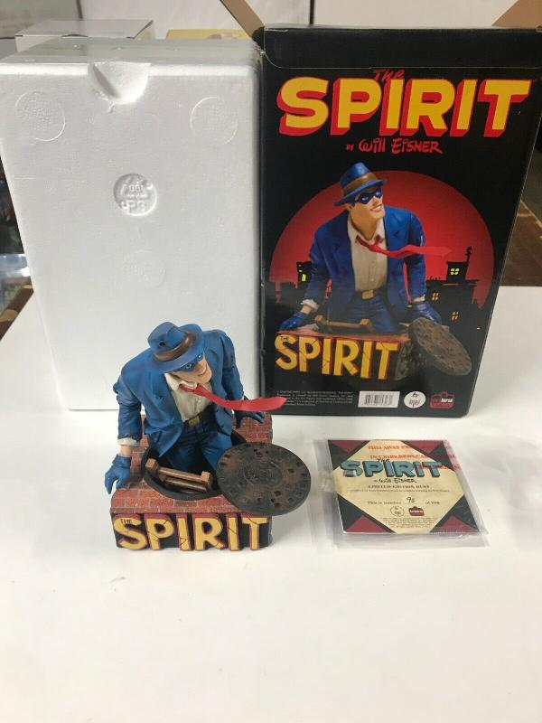 The Spirit Will Eisner Classic Dark Horse Deluxe  Bust (94/950) 2008 New MISB