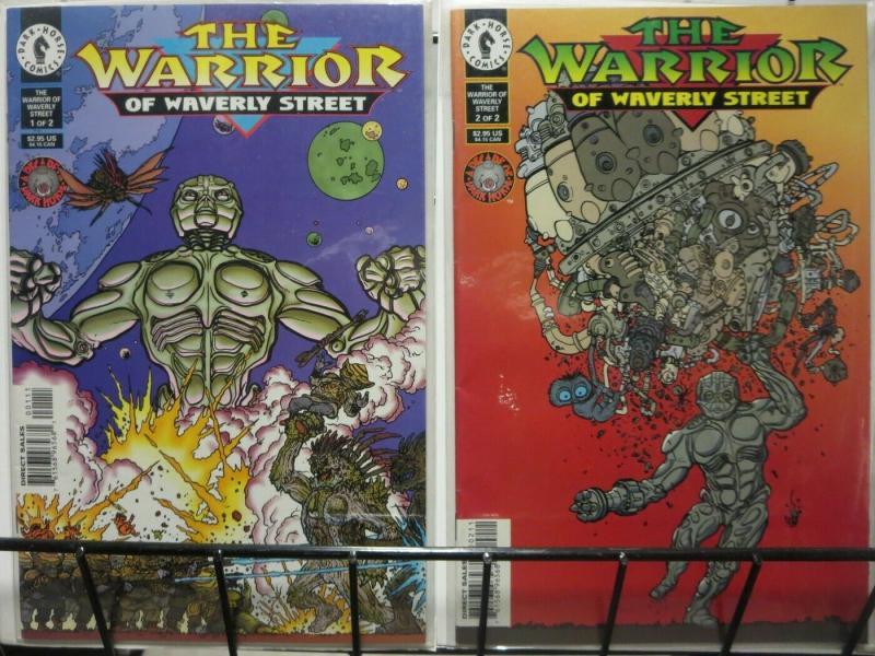 WARRIOR OF WAVERLY ST (1996 DH) 1-2  Prequel STAR KID