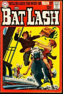 BAT LASH #3-1968-DC WESTERN-very good VG