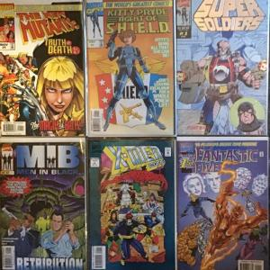 SIX NUMBER 1 MARVEL ODD BALL TITLES ALL NM CONDITION