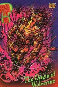 1993 Marvel Universe #136 Origin of Wolverine