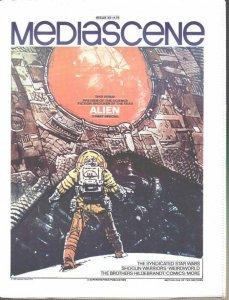 STERANKO'S Mediascene#35(1979)StarWars,ALIEN+ R Cobb